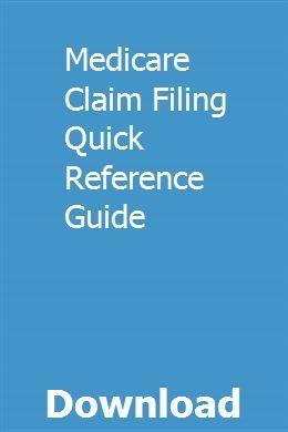 Medicare Claim Filing Quick Reference Guide Florida Traffic Motorcraft Oil Filter