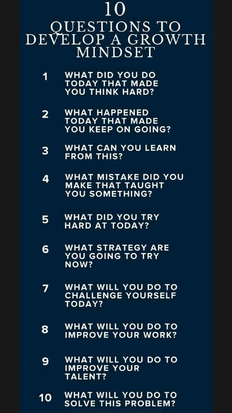 Developna growth mindset