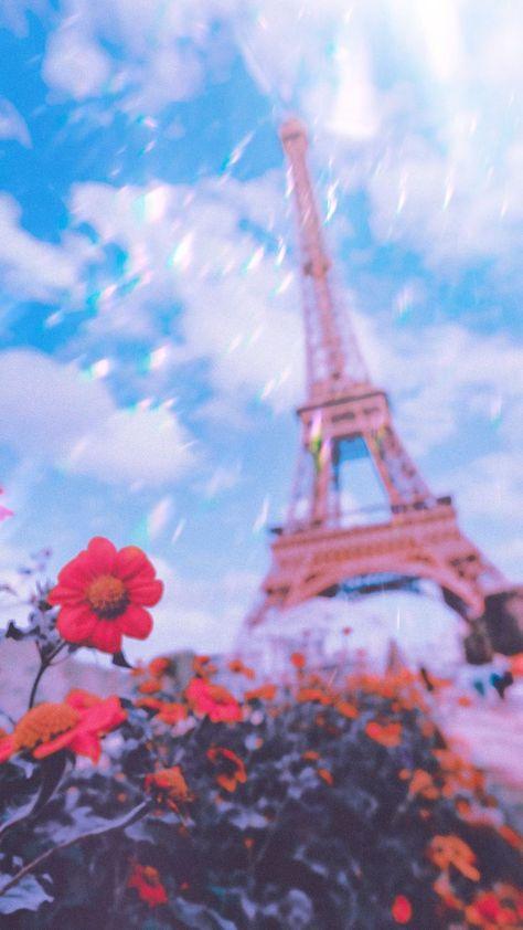 Inspo for your next wallpaper idea, download this or create your own! #wallpaper #PolaroidAesthetic #freedownload #phonewallpaper #Paris
