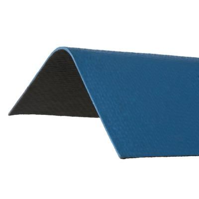 Ondura 3 3 Ft X 12 1 2 In Blue Ridge Cap Asphalt Roof Panel Roof Panels Ridge Cap Asphalt Roof