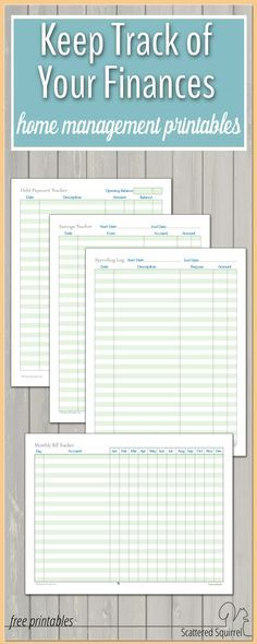 Family Binder Budgeting Printables Free printables, Binder and