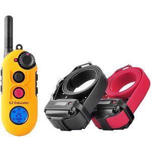 E Collar Technologies Easy Educator 1 2 Mile Range Remote Dog Training Collar 2 Dogs Dog Training Collar Training Collar Dog Training