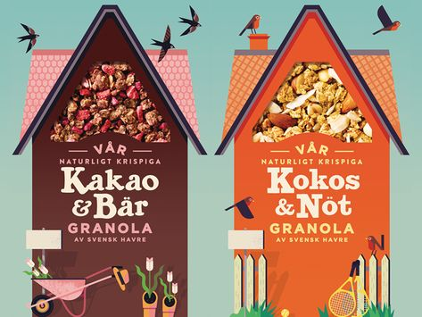 Packaging Designs for Start Cereal