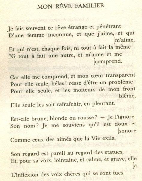 Poeme Pour Elle Que J Aime : poeme, Poems, Ideas, Poems,, French, Oliver
