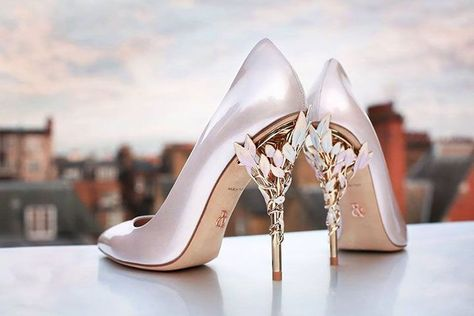 b6e30f9301b8 Pink Wedding Shoes With Rose Gold Heels ~ Eden Heel Pump