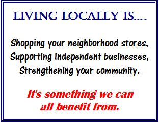 Independent businesses benefit your community.