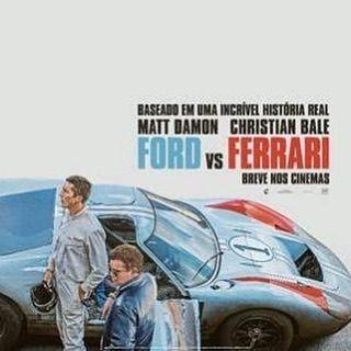 Fox Film Divulga O Cartaz Teaser Do Filme Ford Vs Ferrari