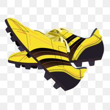 Yellow Soccer Shoes Shoes With Nails Beautiful Shoes Grasping Shoes Cartoon Illustration Yellow Soccer Shoes Football Shoes With Nails Png Transparent Clipar In 2020 Football Shoes Soccer Shoes Cartoon Illustration