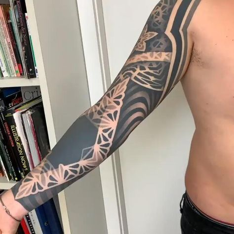 Just Finished My Right Arm Tattoo!