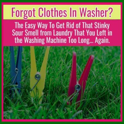 How To Get Sour Smell Out Of Clothes Towels Sour Laundry