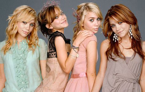 And then showed off their playful side: 14 Times The Olsen Quadruplets Were The Baddest Bitches On The Block