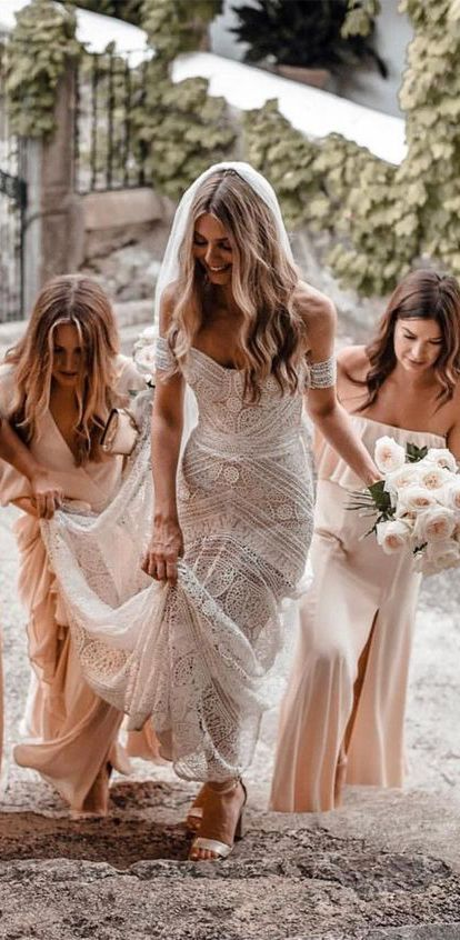 Ivory Wedding Dresses Country Weding Dresses Bohemian Wedding