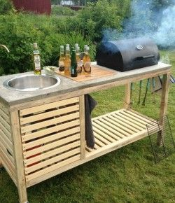How To Build A Portable Kitchen Your Projects Obn Diy Outdoor Kitchen Outdoor Kitchen Design Outdoor Kitchen