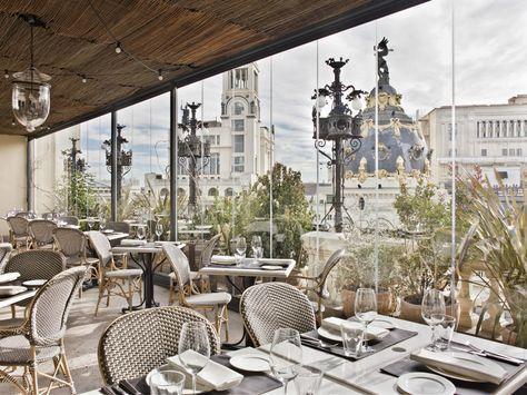 Jardines De Invierno Hotel De Lujo Terrazas Madrid Hoteles Unicos