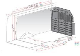 Ford E 150 Cargo Van Interior Dimensions Ford Transit Van Interior Cargo Van