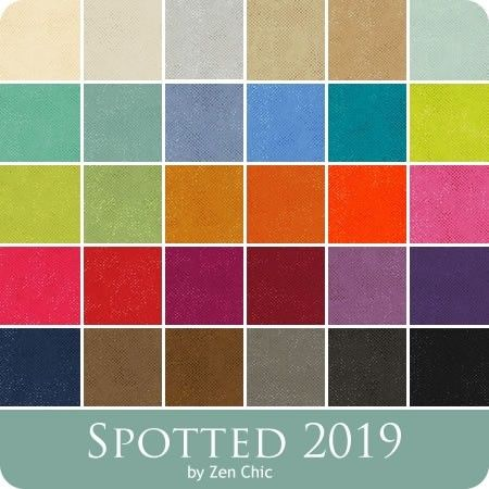 Spotted Jelly Roll by Zen Chic for Moda  Fabrics