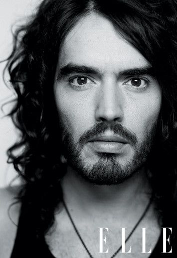 Russell Brand. Probably the most beautiful man I have ever seen. Absolutely stunning. - SM, DreamsUnderfoot