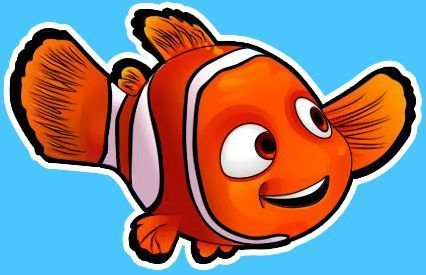 How To Draw Nemo From Disney S Finding Nemo With Easy Step By Step