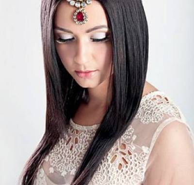 Indian Wedding Hairstyles For Long Straight Hair
