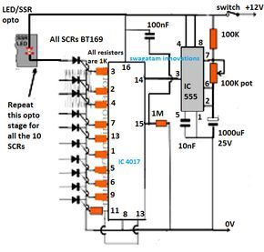 In This Article We Elaborately Learn To Make A 2 4ghz 10 Channel Remote Control Switch Circuit Usin Circuit Projects Electronic Circuit Projects Remote Control