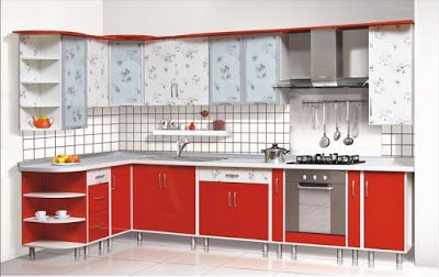New Modular Red Kitchen Cabinets Designs And Color Combinations 2019 Kitchen Design Red Kitchen Cabinets Modular Kitchen Cabinets