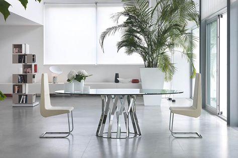 Tavolo Rotondo Vetro Design.Pin Di Roberto Provenzi Su Klab Tavolo Rotondo Vetro Design Di