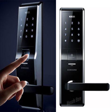 Samsung Ezon Shs 5230 New Entry Keyless Fingerprint Security Digital Door Lock Digital Door Lock Door Lock Security Door Locks