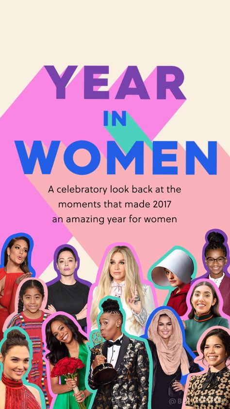 Year in Women 2018
