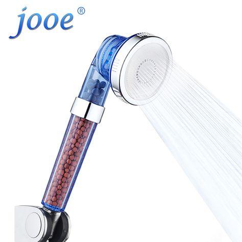 Best Price Jooe Water Saving Spa Shower Heads Handheld Round