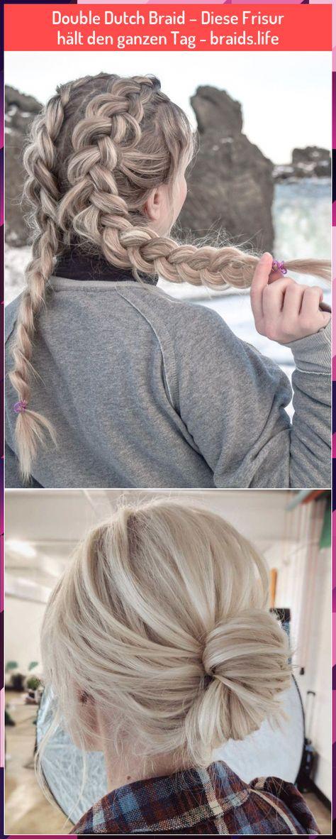 Double Dutch Braid – Diese Frisur hält den ganzen Tag - braids.life #Double #Dutch #Braid #– #Diese #Frisur #hält #den #ganzen #Tag #braids.life