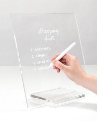 Mara-Mi Russell & Hazel Acrylic Memo Tablet  & Reviews - Cleaning & Organization - Home - Macy's