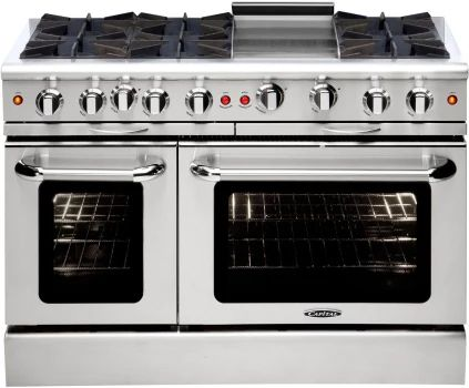 Culinarian 48 Gas Manual Clean Range Range Cooker Double Oven