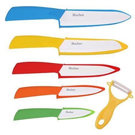 Bluchen Ceramic Knife Set With Images Ceramic Knife Set