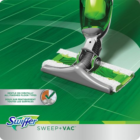 Swiffer Sweep And Vac Vacuum Cleaner Floor Sweeper Starter Kit You Can Find Out More Details At The Link Of The Image Swiffer Floor Cleaner Vacuum Cleaner