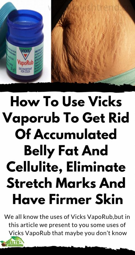 We all know the uses of Vicks VapoRub,but in this article we present to you some uses of Vicks VapoRub that maybe you don't know #beauty #health #tips #remedies #WhatIsTheUseOfVicksVaporub #What'sVicksVaporubGoodFor
