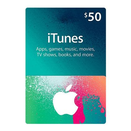 Itunes Gift Card 50 Us Region Email Delivery Itunes Gift
