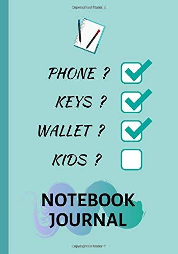 Phone Keys Wallet Kids Notebook Journal Quirky Novel Https