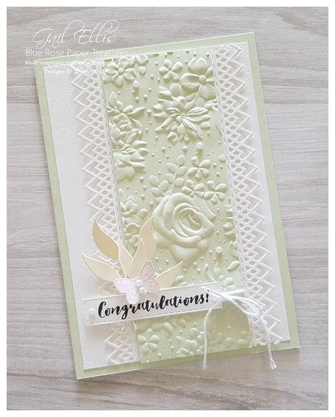 Blue Rose Paper Treasures: Delicate Lace Edgelits