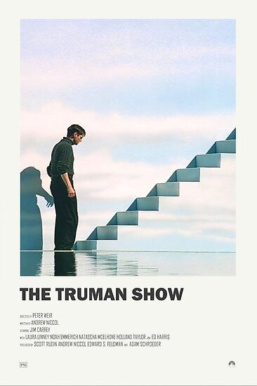 The Truman Show Alternate Movie Poster Poster