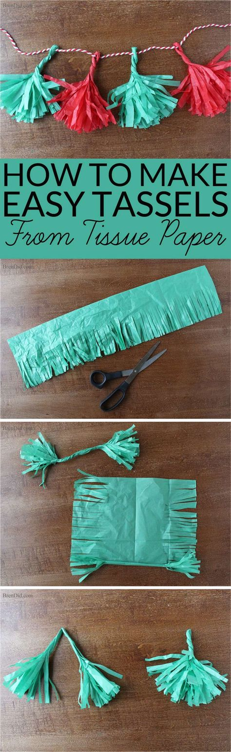 how to make tissue paper streamers Not only will i show you how to make tissue paper pom-poms, i'm going to show you how to get 5 tissue paper pom-poms (1 large, 2 medium, 2 small) out of one $99 package of tissue paper these are really easy to make once you get the hang of it.
