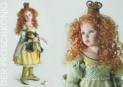 Princess and The Frog - 2011 Hildegard Gunzel Porcelain Collection