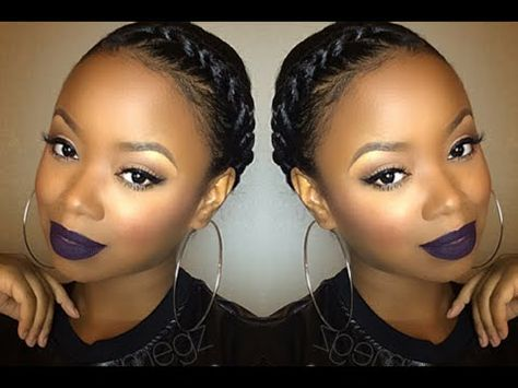 Easy Granny Braid Tutorial Protective Style [Video] - blackhairinformation video-gallery/braids-and-twists-videos/easy-granny-braid-tutorial-protective-style-video/ www.