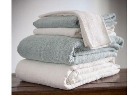 Yala Bamboo Dreams Bath Towel Set Of 2 Natural White Or Rain