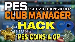 LATEST! PES Club Manager Hack 2018 Updated Generator for