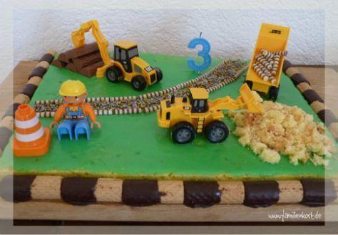 Baustellen Kuchen Rezept Mit Bildern Kuchen Kindergeburtstag Kindergeburtstagskuchen Kindergeburtstag Essen