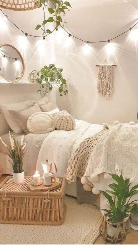 Cozy Neutral Bedroom