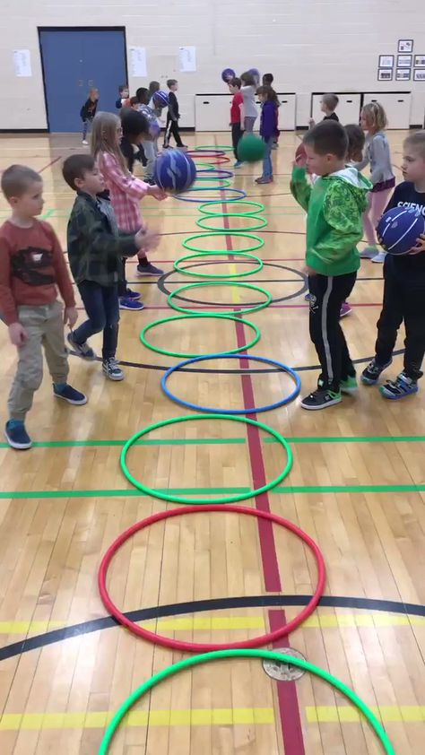 """Nicole Ballinger on Twitter: """"Look at the teamwork and focus required🙂#Basketball #PhysEd @SilverSpryycbe… """""""