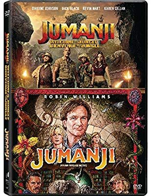Jumanji 1995 Jumanji Welcome To The Jungle Jumanji Double Feature Robin Williams Kirsten Welcome To The Jungle Jumanji 1995 Robin Williams