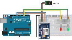 Controle O Arduino Por Sms Com O Sim800l Circuito Arduino