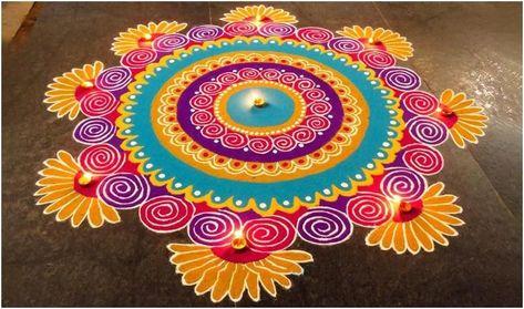 Happy Diwali 2019: Images, wishes, rangoli design, Whatsapp
